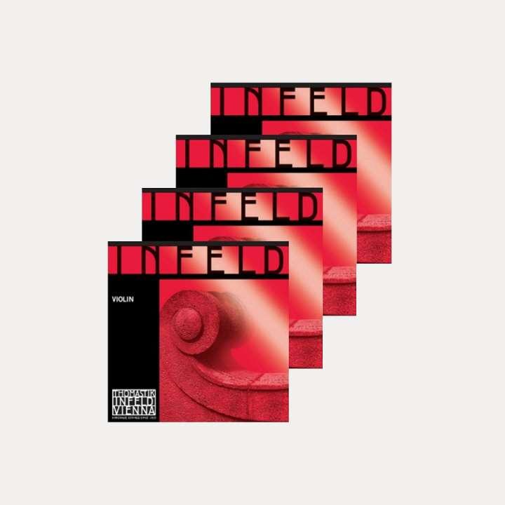 VIOLIN STRING THOMASTIK INFELD RED SET