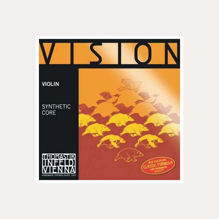 VIOLIN STRING THOMASTIK VISION 3 D SILVER