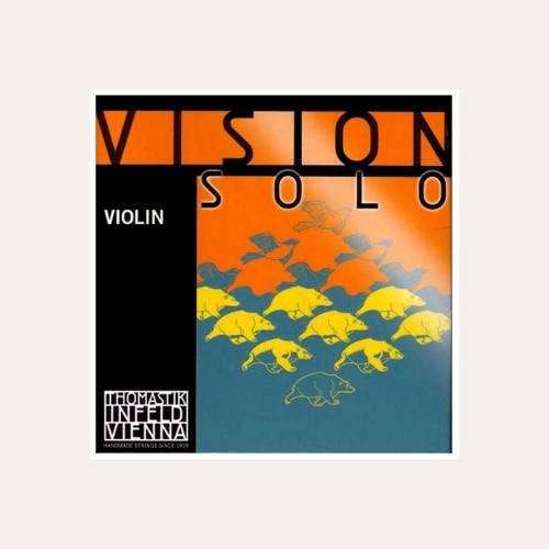 VIOLIN STRING THOMASTIK VISION SOLO 3-D SILVER