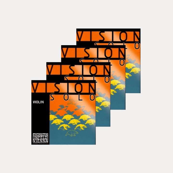 VIOLIN STRING THOMASTIK VISION SOLO SET