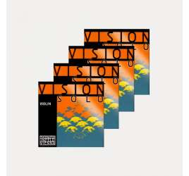 VIOLIN STRING THOMASTIK VISION SOLO SET