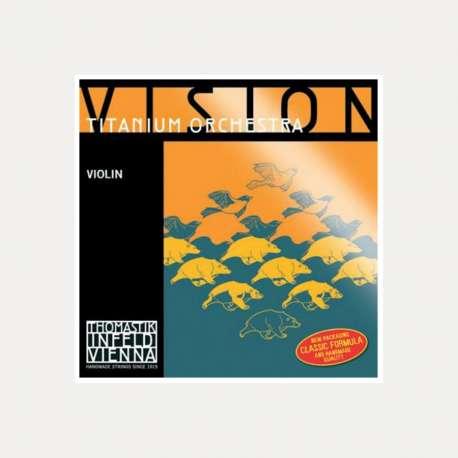 VIOLIN STRING THOMASTIK VISION TITANIUM ORCHESTRA 1E