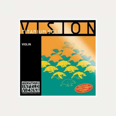 VIOLIN STRING THOMASTIK VISION TITANIUM SOLO 1-E