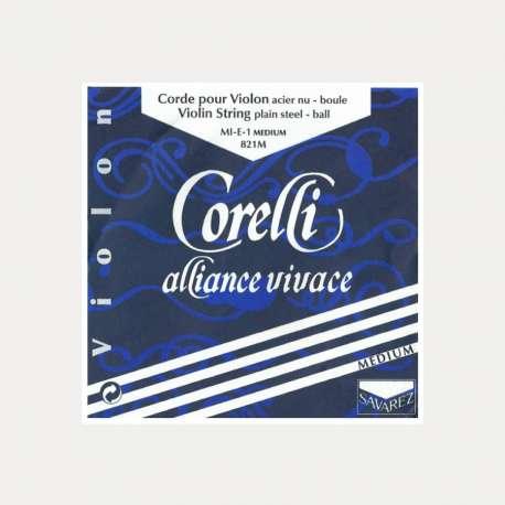 Cuerda violín Corelli Alliance 3a Re