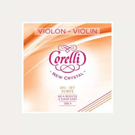 Cuerda violín Corelli Crystal 3a Re Forte