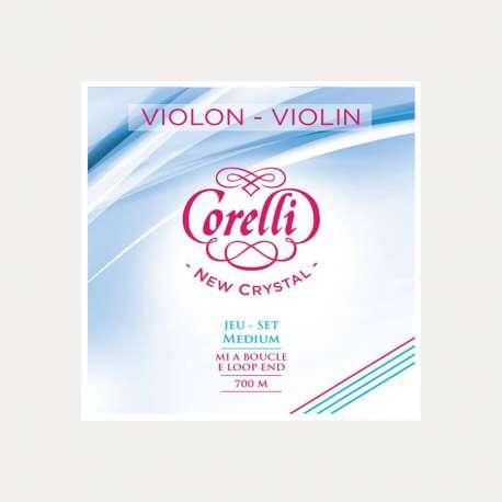 Cuerda violín Corelli Crystal 3a Re