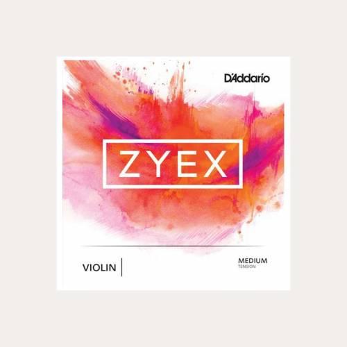 CUERDA VIOLIN DADDARIO ZYEX 2A LA
