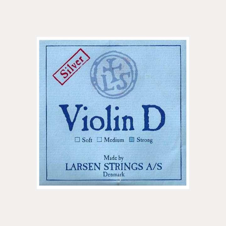 VIOLIN STRING LARSEN 3-D SILVER HEAVY