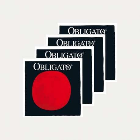 CUERDA VIOLÍN PIRASTRO OBLIGATO JUEGO COMPLETO