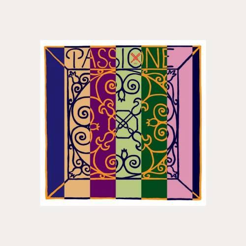 VIOLIN STRING PIRASTRO PASSIONE 4-G MEDIUM Gauge 16 1/4
