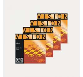 VIOLIN STRINGS THOMASTIK VISION SET