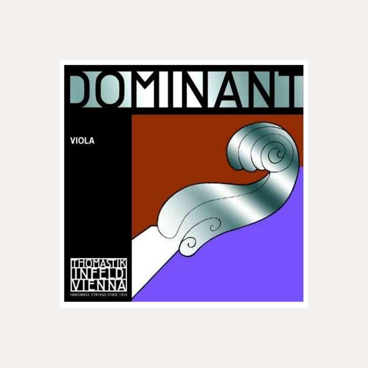 VIOLA STRING THOMASTIK DOMINANT 2A RE PLATA FORTE