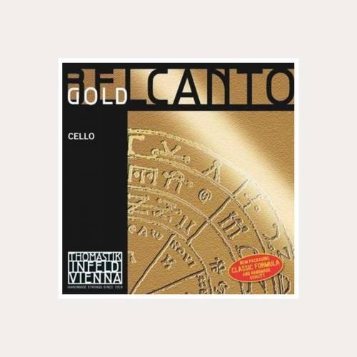 CELLO STRING THOMASTIK BELCANTO GOLD 4-C