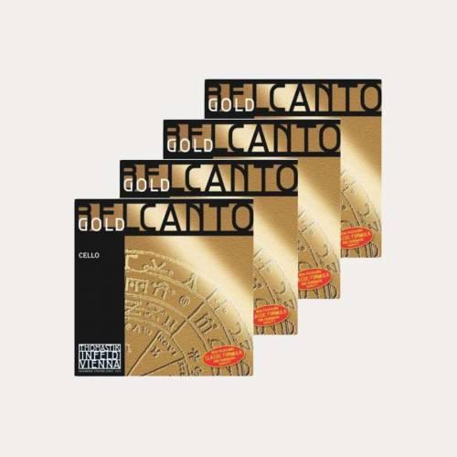 CELLO STRING THOMASTIK BELCANTO GOLD SET