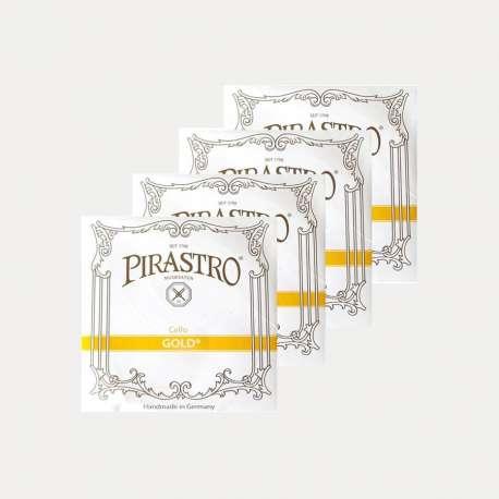 CELLO STRING PIRASTRO GOLD SET
