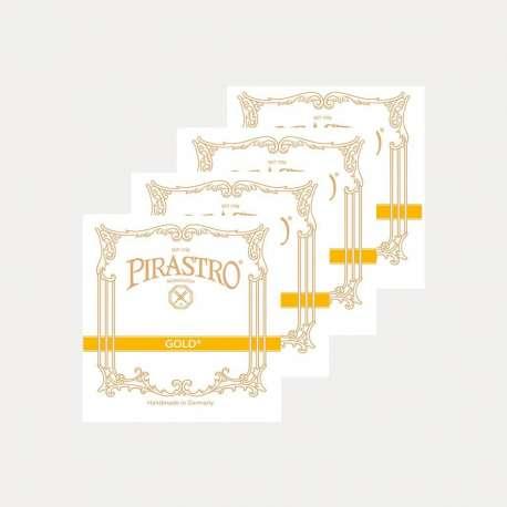 VIOLIN STRING PIRASTRO GOLD SET