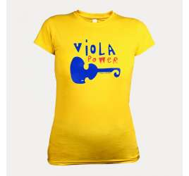 VIOLA POWER WOMEN T-SHIRT