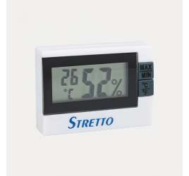 HYGROMETER AND THERMOMETER STRETTO
