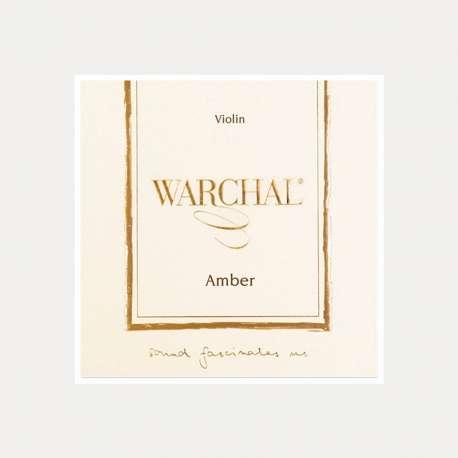 CUERDA VIOLIN WARCHAL AMBER 2a LA