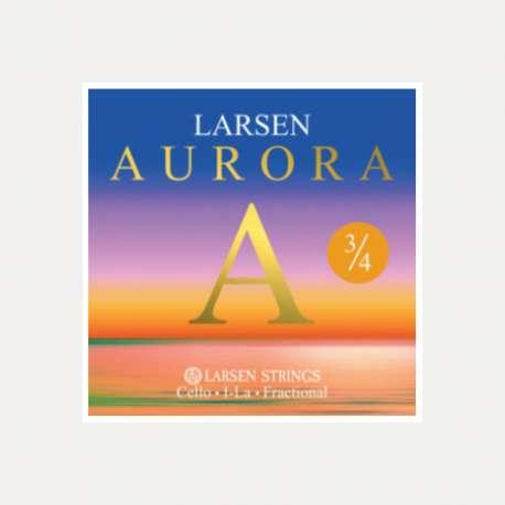 CUERDA CELLO LARSEN AURORA 1a LA 3/4