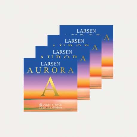LARSEN AURORA CELLO STRINGS SET