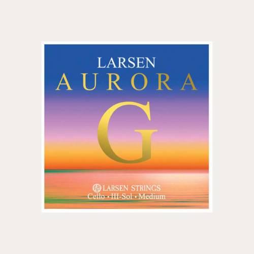 CUERDA CELLO LARSEN AURORA 3a SOL 4/4