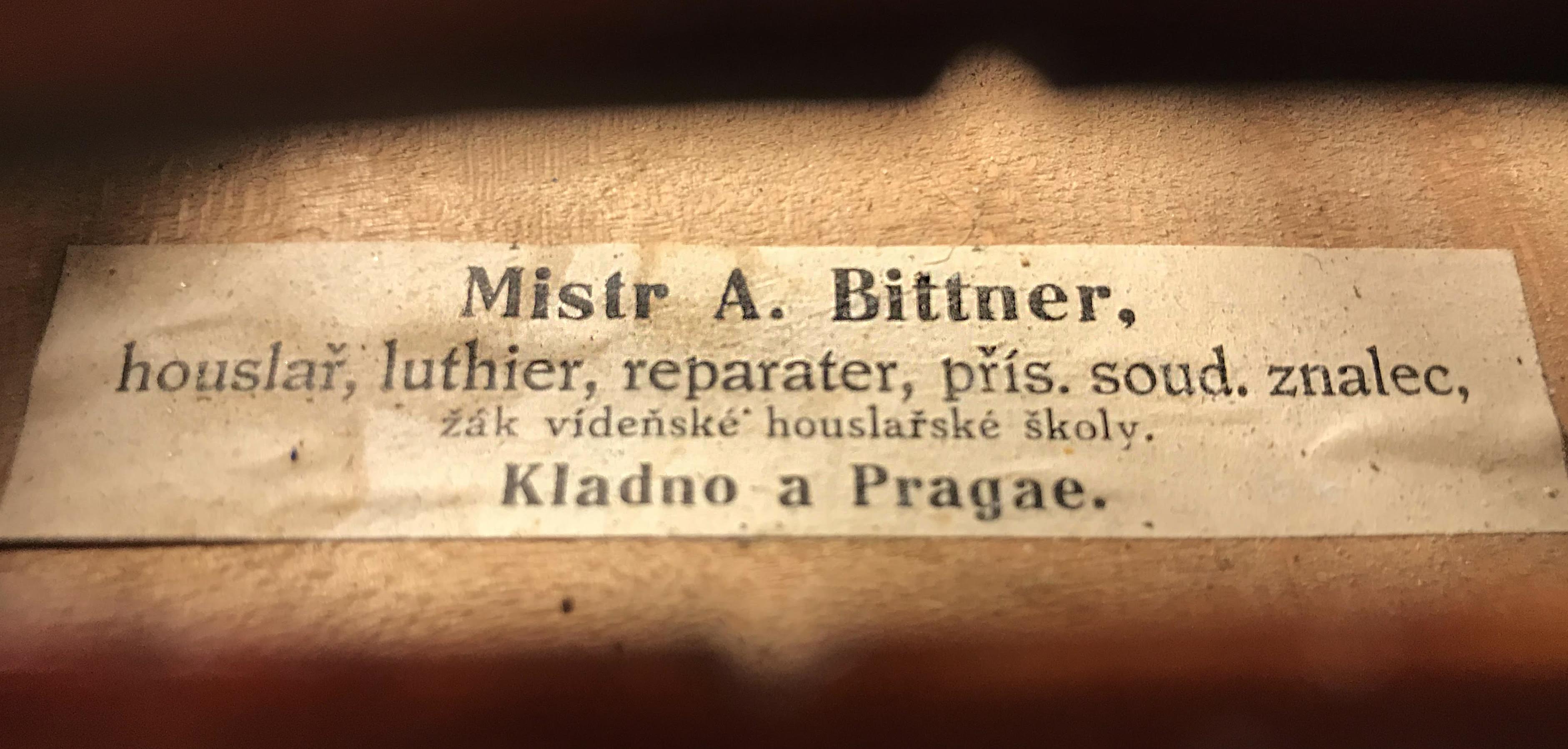 Comprar violí Bittner Praga