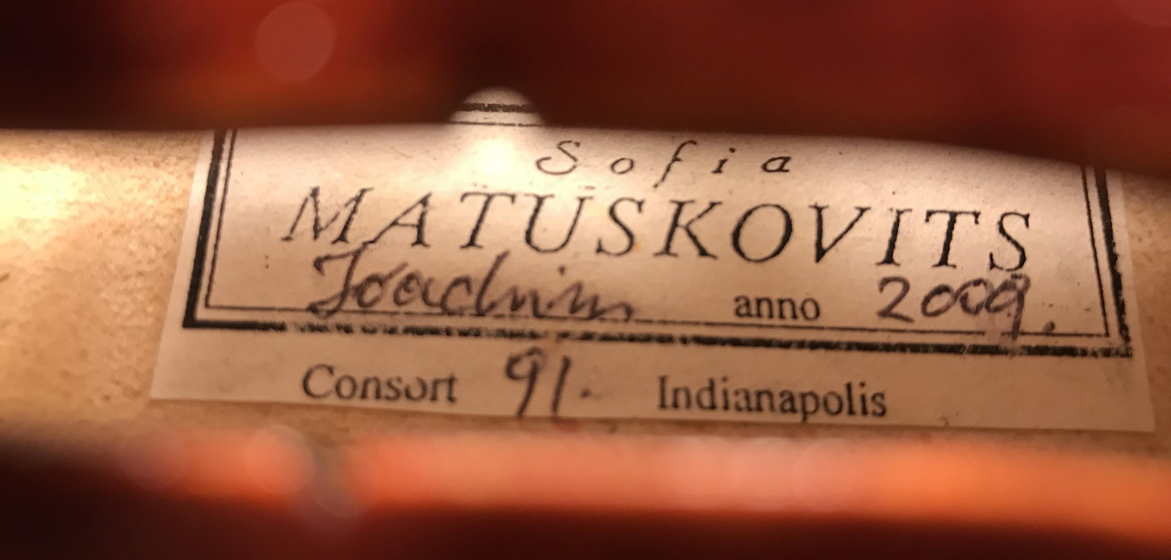 Comprar Sofia Joachim violí