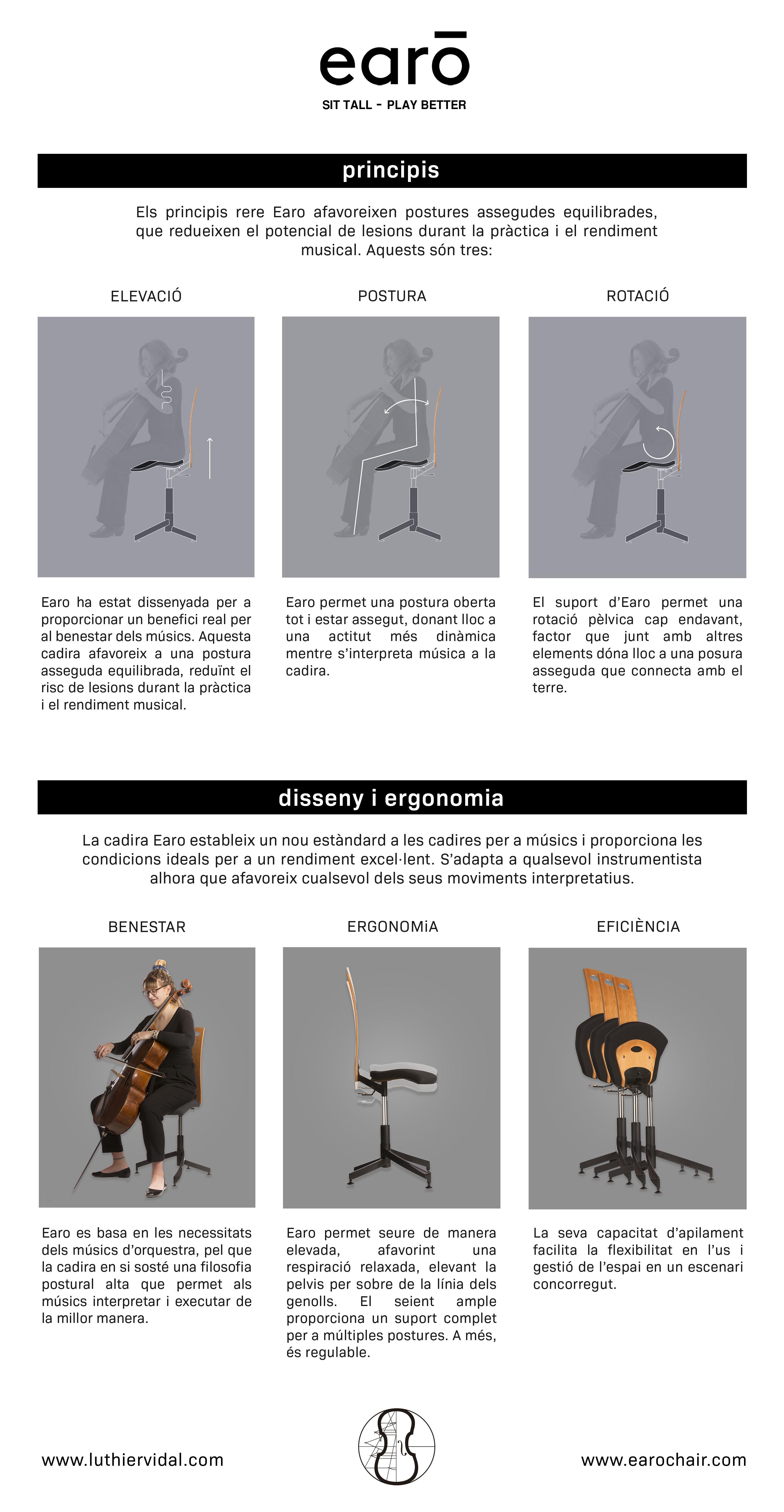 Earo Chair Luthier Vidal