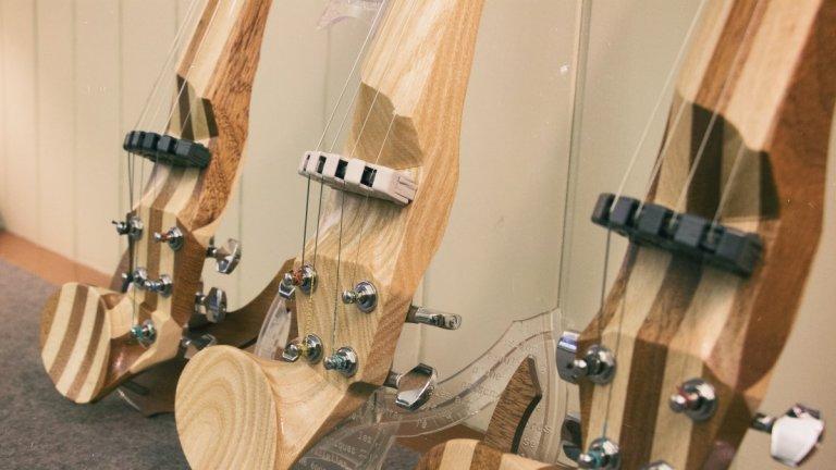 Violins elèctrics a Luthier Vidal
