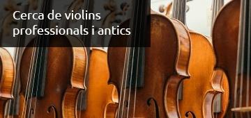 Cerca de Violins - Luthier Vidal