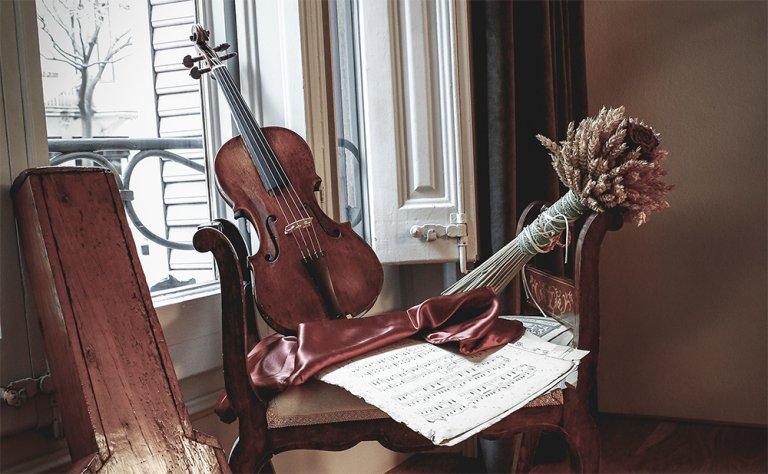 Baroque violins