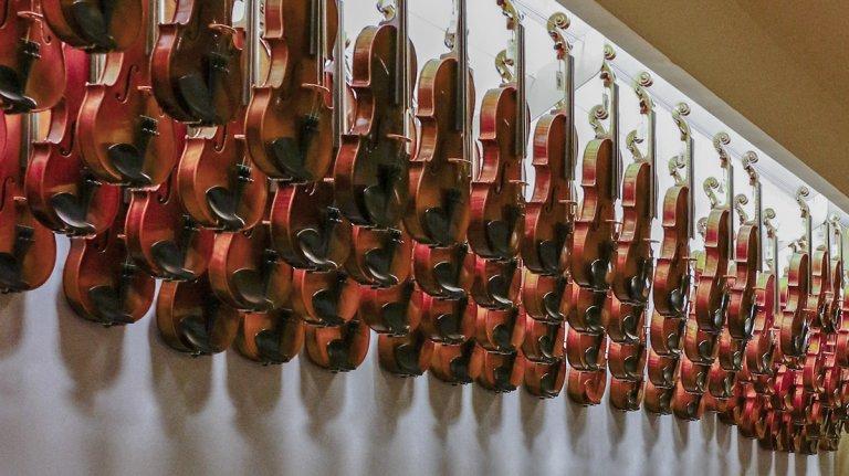 Alquiler Instrumentos Luthier Vidal