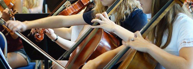 Curso violín verano