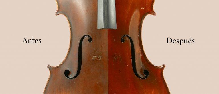 Limpieza de cello