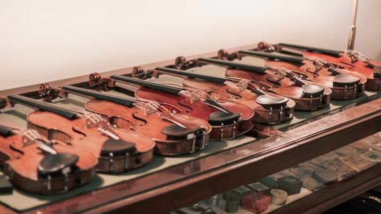Venta de violines y violonchelos antiguos de la mano de Christophe Destannes