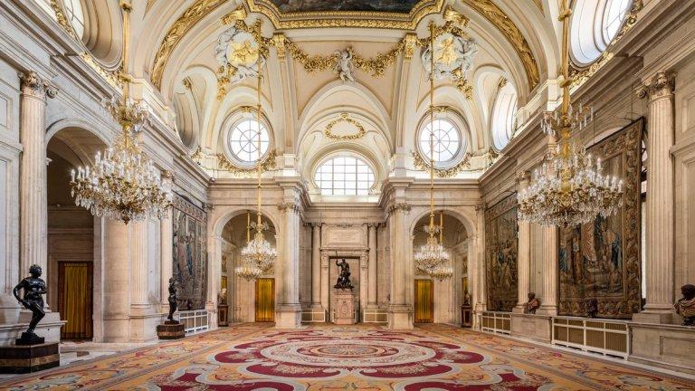 Salón de Columnas del Palacio Real