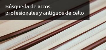 Busqueda de Arcos para Cello - Luthier Vidal