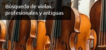 Busqueda de Violas para Professionales - Luthier Vidal